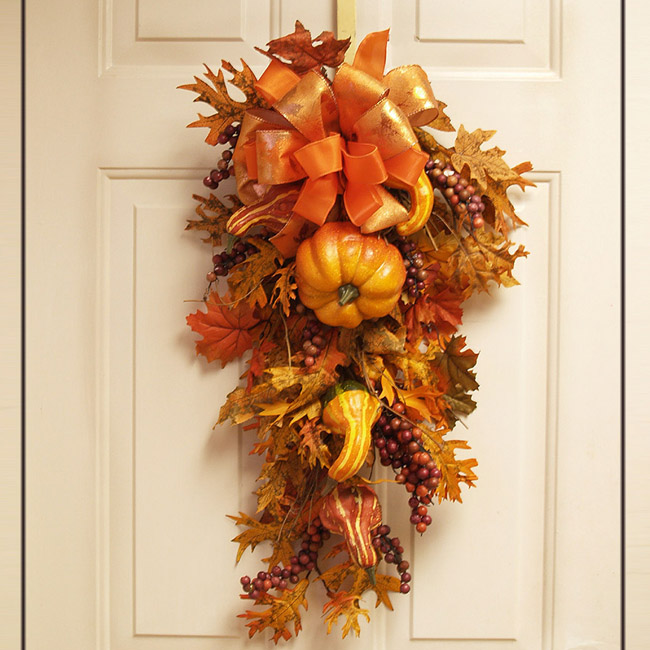 Silk flowers floral home decor page 11 of 13 silk for Fall fake flower arrangement ideas