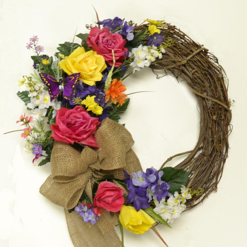 New Summer Wreaths - Silk Flowers | Floral Home Decor