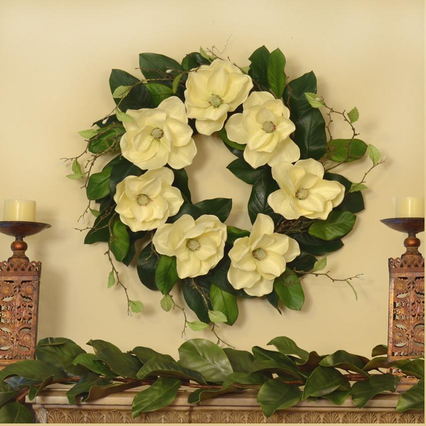New Christmas Wreaths and Decor - Silk Flowers   Floral Home Decor