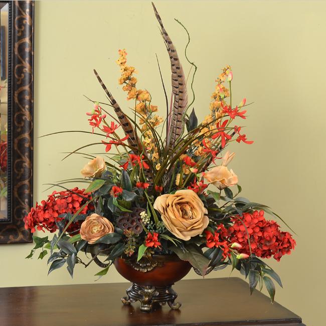 Brilliant Elegant Silk Flower Arrangements 650 x 650 · 377 kB · jpeg