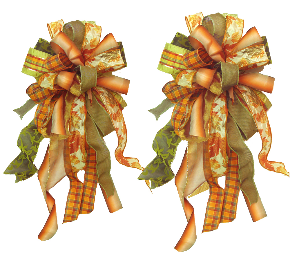 Fall Ribbon Crafts